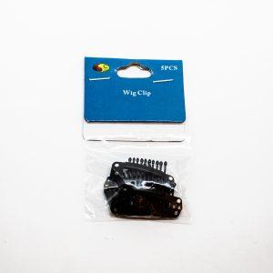 Wig clip plaquette