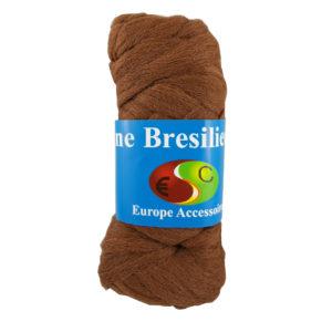 Laine brésilienne marron